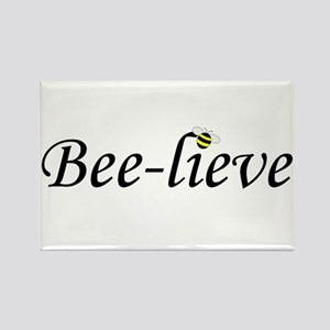BEE-LIEVE Rectangle Magnet